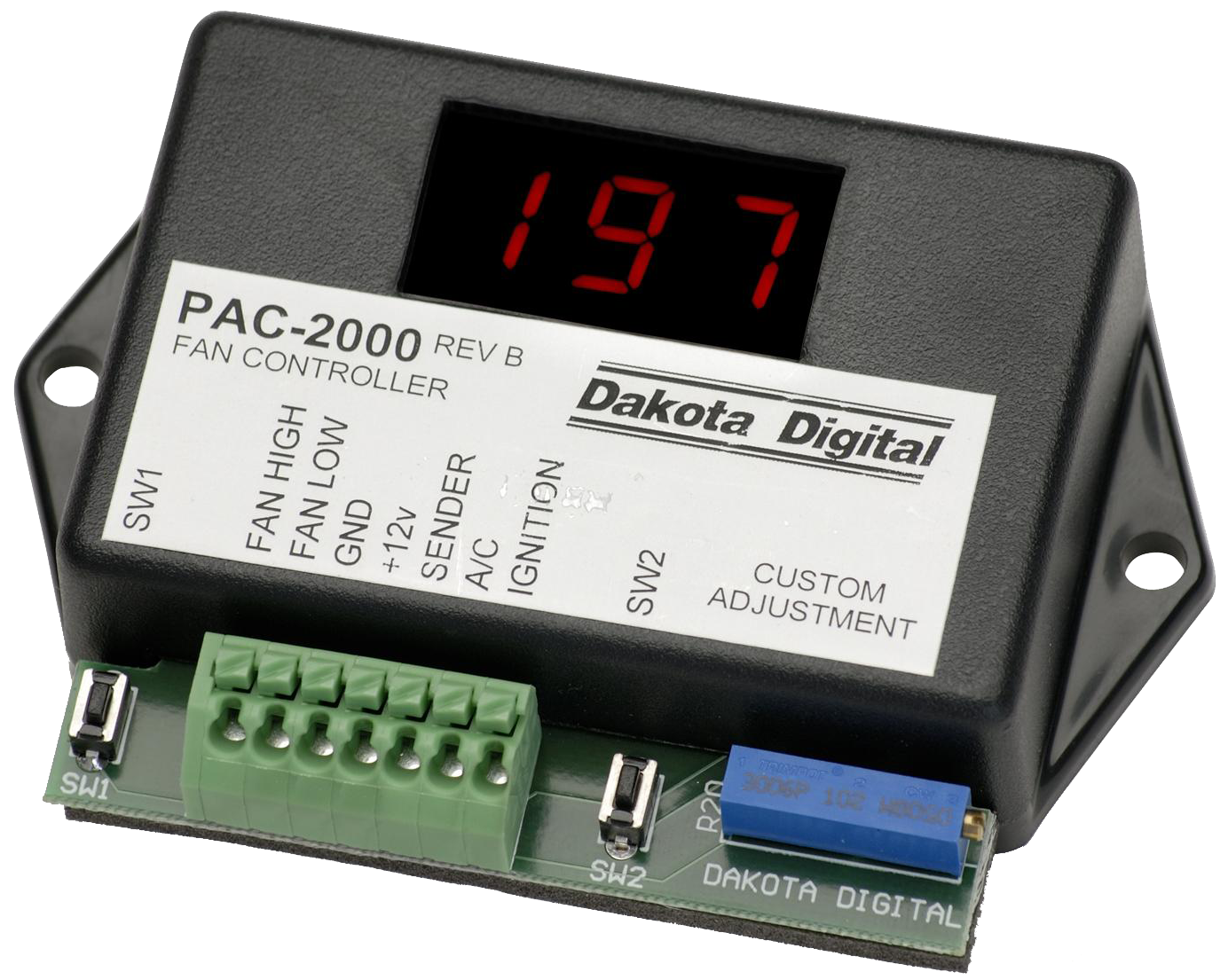 Dakota Digital Dual Fan Controllers Pac 2000 Dak Wiring Diagram